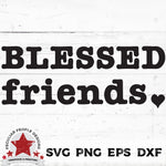 Blessed-Friends-Type-SVG-peculiar-people-designs
