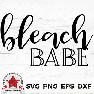 Load image into Gallery viewer, bleach babe svg png eps dxf cut file by peculiar people designs
