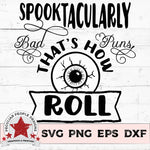 Spooktatcularly Bad Puns - SVG PNG EPS DXF - morning-star-designs