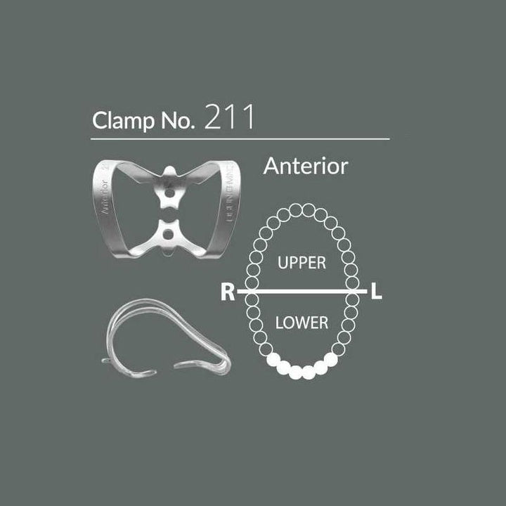 Sanctuary Dental Dam Clamps