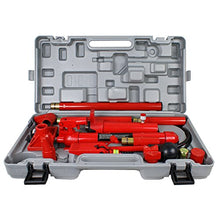 F2C 10 Ton Capacity Porta Power Hydraulic Bottle Jack ram Pump Auto Body Frame Repair Tool Kit Power Set Auto Tool for Automotive, Truck, Farm and Heavy Equipment/ Construction(10 Ton)
