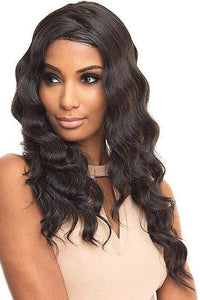 Bewigg 100% Human Hair Lace Wigs Bewigg 100% Human Hair ZigZag Part Lace Front Wig - OCEAN WAVE