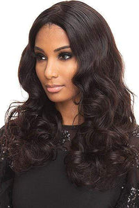 Bewigg 100% Human Hair Lace Wigs Bewigg 100% Human Hair ZigZag Part Lace Front Wig - ROMMANCE