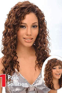 Bijoux Synthetic Hair (Multi Pack) 1 Pack Solution - All in Super - Venice Curl - Sale