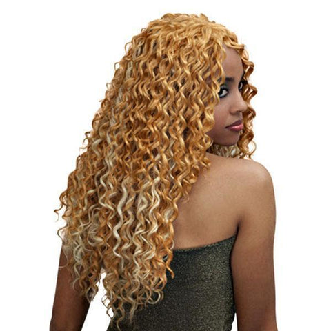 "Bobbi Boss 100% Human Hair (Single Pack) 1 / 12"" Bobbi Boss Indi Remi 100% Unprocessed Virgin Remy Hair (Single Pack) - French Wave Remi 12"" 14"" 18"""