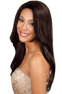 "Bobbi Boss 100% Human Hair (Single Pack) 1 / 8"" Bobbi Boss Visso Remi 100% Human Hair VISSO NATURAL YAKY 8""~22"""