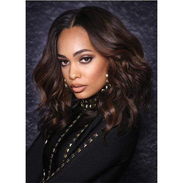 "Bobbi Boss 100% Human Hair (Single Pack) 1 / 8"" Bobbi Boss Winner 100% Human Hair Weaves - Natural Yaki 8"" - 18"""