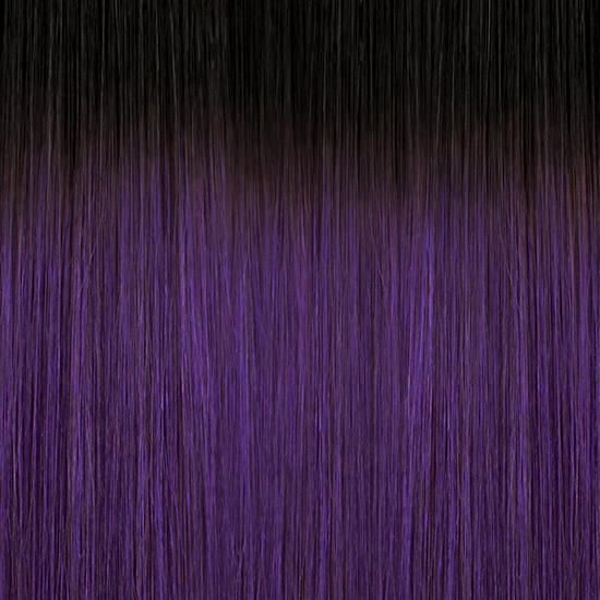 Bobbi Boss 100% Human Hair (Single Pack) TT1B/LAVENDER / 10