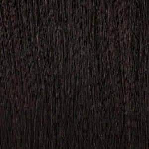 Bobbi Boss 100% Human Hair Wigs NATURAL BLACK Bobbi Boss 100% Unprocessed Human Hair Lace Wig - MHLF437 EDITH