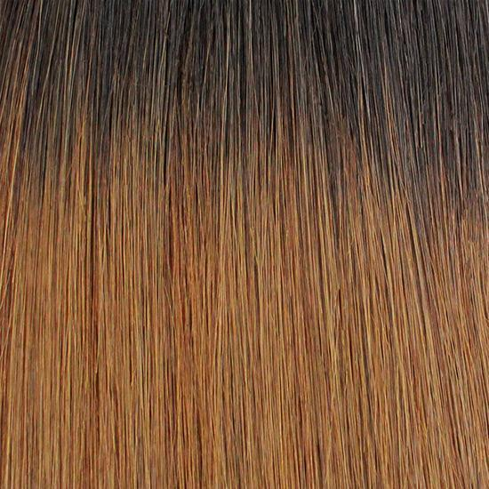 Bobbi Boss 100% Human Hair Wigs TT1B/30 Bobbi Boss Unprocessed Remi Human Hair Lace Front Wig - MHLF801 EMA NATURAL
