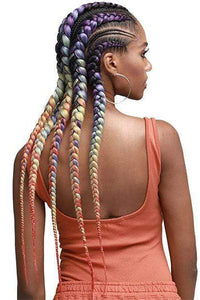Bobbi Boss Box Braid 1 [3 Pack Deal] Bobbi Boss Pre-feathered Braid - JUST BRAID 54inch 3X