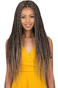 Bobbi Boss Box Braid 1 Bobbi Boss African Roots Collection Crochet Braid - BOMBA BOX BRAID 18""