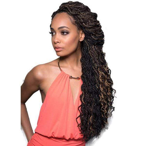 Bobbi Boss Crochet Braid 1 Bobbi Boss Senegalese Twist Braid - SENEGAL TWIST CURLY 14""