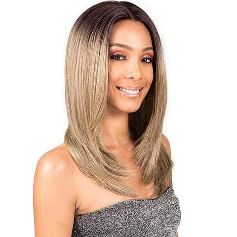 Bobbi Boss Deep Part Lace Wigs 1 Bobbi Boss Premium Synthetic Deep Part Lace Front Wig - MLF203 SHIKIA