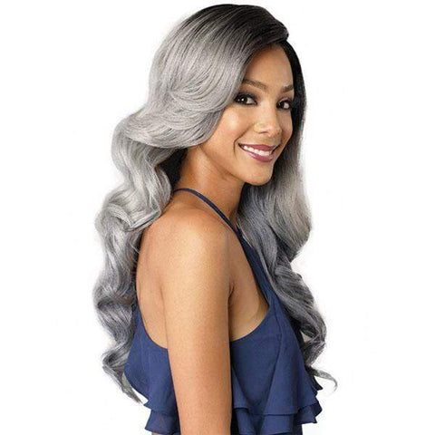 Bobbi Boss Deep Part Lace Wigs 1 Bobbi Boss Swiss Lace Front Wig Deep Part Lace Wigs - MLF192 Nuru