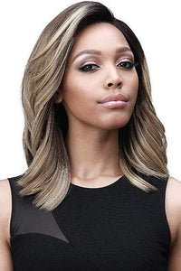"Bobbi Boss Deep Part Lace Wigs 1 Bobbi Boss Synthetic 5"" Deep Part Swiss Lace Front Wig - MLF366 HARLOW"