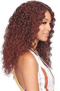Bobbi Boss Deep Part Lace Wigs 1 Bobbi Boss Synthetic 5 inch Deep Part Swiss Lace Front Wig - MLF325 ZELLY