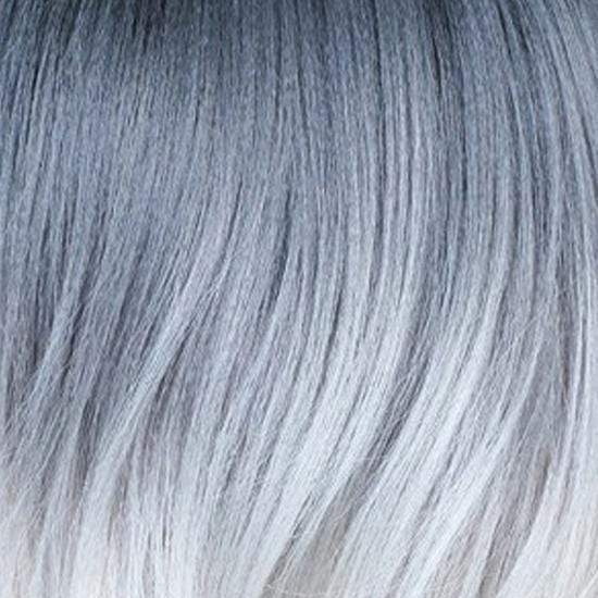 Bobbi Boss Deep Part Lace Wigs 3T1B/GWHT Bobbi Boss Synthetic Deep Part Swiss Lace Front Wig - MLF309 TESSA