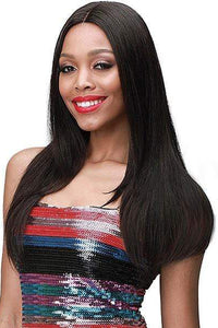 "Bobbi Boss Deep Part Lace Wigs Bobbi Boss 100% Unprocessed Remi Hair 4.5"" Deep Part Lace Front Wig - MHLF308 EUDORA"