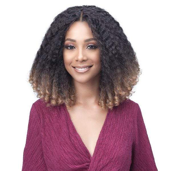 Bobbi Boss Deep Part Lace Wigs BT1B/27 Bobbi Boss Premium Synthetic Deep Part Lace Front Wig - MLF310 KYRA