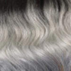 Bobbi Boss Deep Part Lace Wigs TT1B/GGREY Bobbi Boss Synthetic Deep Part Lace Front Wig - MLF167 LINDSEY - (C)
