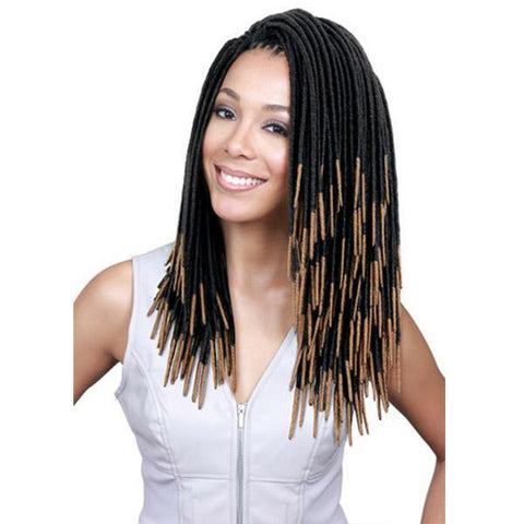 Bobbi Boss Faux Loc Braid 1 Bobbi Boss Faux Loc Braid - BOMBA FAUX LOCS DREAD 12""