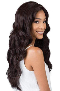 Bobbi Boss Free Part Lace Wigs 1 Bobbi Boss Synthetic Swiss Lace Wig - MLF380 EMERALD
