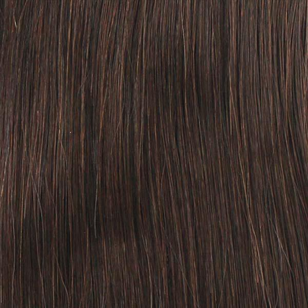 Bobbi Boss Frontal Lace Wigs 2 Bobbi Boss Human Hair Blend 4X4 Swiss Lace Front Wig - MBLF120 KIANA