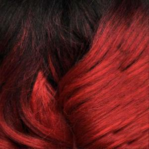 Bobbi Boss Frontal Lace Wigs T1B/RED Bobbi Boss Synthetic Truly Me Lace Front Wig - MLF426 MARCIA
