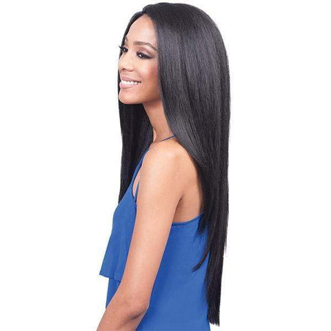 Bobbi Boss Human Hair Blend Lace Wigs 1 Bobbi Boss Human Blend Lace Front Wig - MBLF110 TRINA