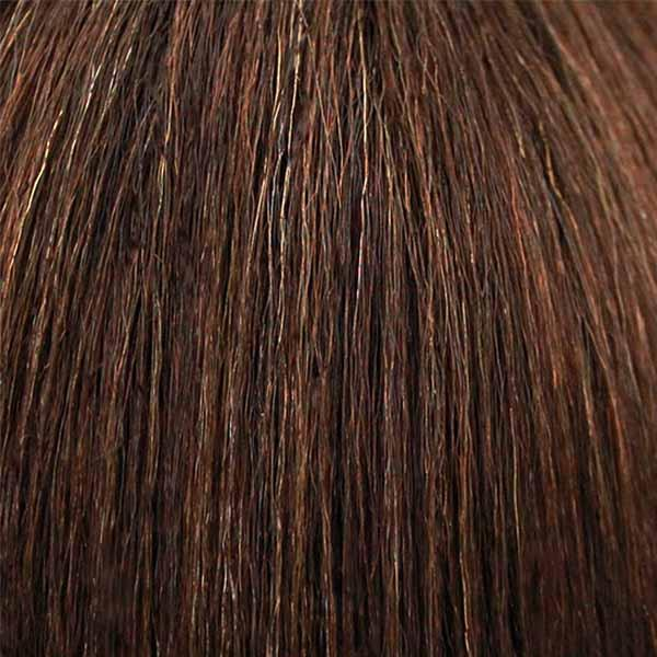 Bobbi Boss Human Hair Blend Lace Wigs FS4/27 Bobbi Boss Human Hair Blend Deep Part Swiss Lace Front Wig - MBLF20 ZIA