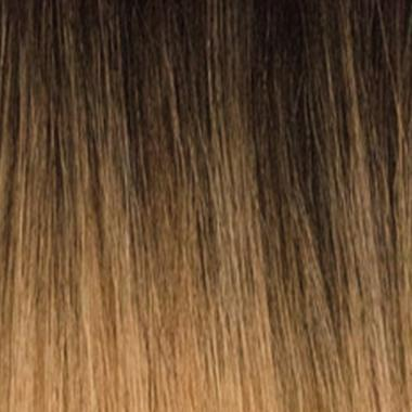 Bobbi Boss Human Hair Blended (Multi Pack) T1B/27 Bobbi Boss Miss Origin Designer Mix 12A Weave Bundle - NATURAL STRAIGHT 3PC + Free Closure