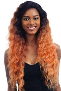 Freetress Deep Part Lace Wigs 1 Freetress Equal Synthetic Premium Delux V Shaped Lace Front Wig - V 001