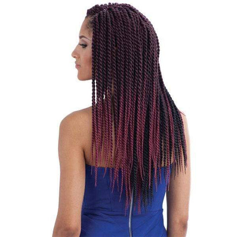 Freetress Senegalese Twist Braid 1 [6 pack deal] Freetress KSETL Crochet SENEGALESE TWIST LARGE