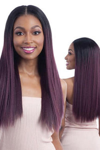 Freetress Synthetic Wigs 1 Freetress Equal Oval Part Wig - OVAL PART LONG STRAIGHT 22""