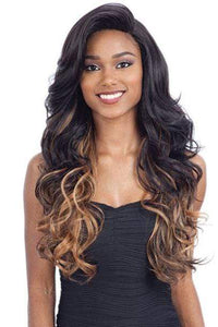 Freetress Synthetic Wigs 1 Freetress Equal Synthetic Hair 5 Inch Lace Part Volume Bang Wig - VINA