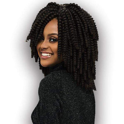 "Harlem 125 Crochet Braid 1 / 10"" [10 pack deal] Harlem 125 KIMA Kalon Crochet Braid - Medium 10"" 20"""