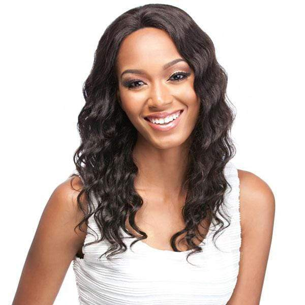 It's a Wig 100% Human Hair Lace Wigs BLACK It's A Wig Salon Remi 100% Brazilian Virgin Human Hair Swiss Lace Front Wig - FLORENCE
