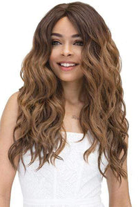 Janet Collection Deep Part Lace Wigs 1 Janet Collection Natural Super Flow Deep Part Lace Wig - Moon