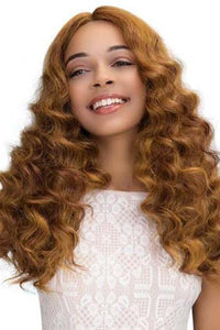 Janet Collection Deep Part Wigs 1 Janet Collection Extended Part Lace Based Deep Part Wig - GABRIELA