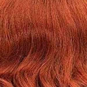 Janet Collection Deep Part Wigs COPPER BROWN Janet Collection Synthetic Extended Deep Part Lace Wig - OPRAH