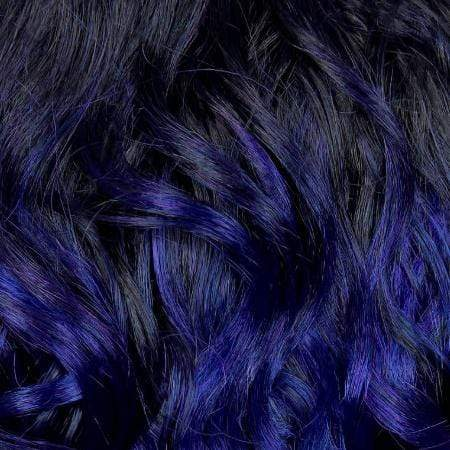 Janet Collection Deep Part Wigs VIOLET BLUE Janet Collection Extended Part Lace Based Deep Part Wig - GABRIELA