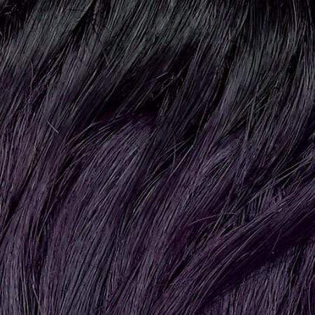 Janet Collection Human Hair Blend Lace Wigs BLACK PURPLE Janet Collection Princess Human Hair Blend Lace Wig - ELSA