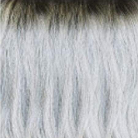 Janet Collection Human Hair Blend Lace Wigs OET1B/SILVER Janet Collection Princess Human Hair Blend Lace Wig - ELSA