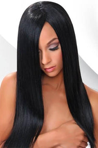 "Kara Hair 100% Human Hair (Single Pack) 1 / 10"" Kara Remy Blue 100% Virgin Human Hair Weave - New Yaki 10"" - 18"""