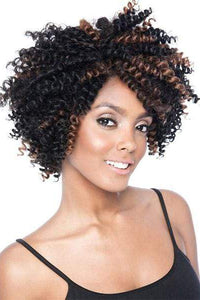 Mane Concept Ear-To-Ear Lace Wigs 1 Mane Concept Black Ivy Lace Front Wig - 3B-SPRINGY