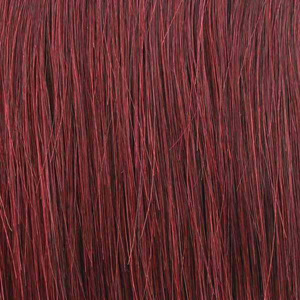 Mane Concept Ear-To-Ear Lace Wigs 99J Mane Concept Isis Red Carpet Synthetic Hair Lace Front Wig - RCP7017 KARINA