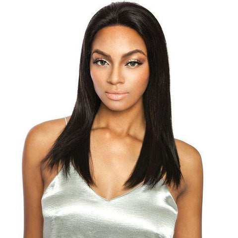 Mane Concept Frontal Lace Wigs Natural Black Mane Concept Trill 13x4 Frontal Lace 100% Brazilian Virgin Remy Wig - TRF2120 STRAIGHT 20""