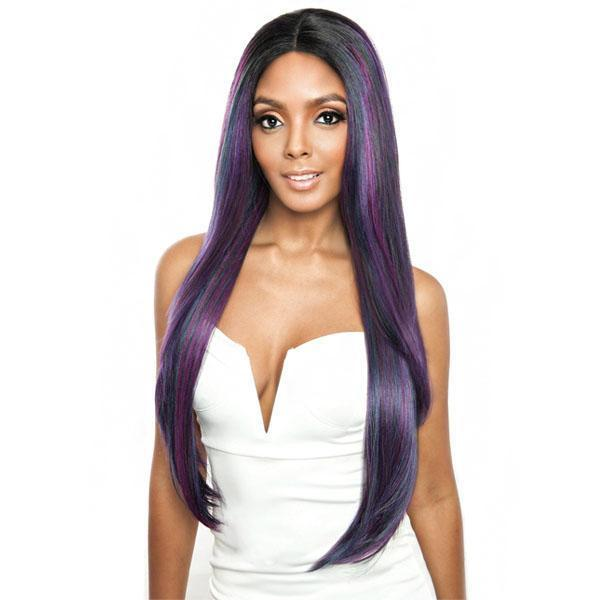 Mane Concept Human Hair Blended Lace Wigs Mane Concept Brown Sugar Human Hiar Blended Lace Wigs - BS293