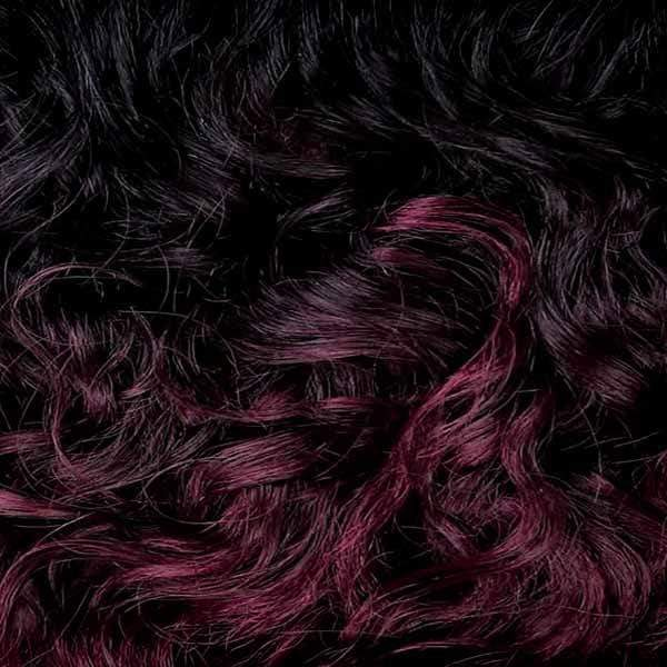 Milkyway Human Hair Blended (Multi Pack) OT530 Milky Way Que Series Weave - Jerry Curl 3pcs - QJ003